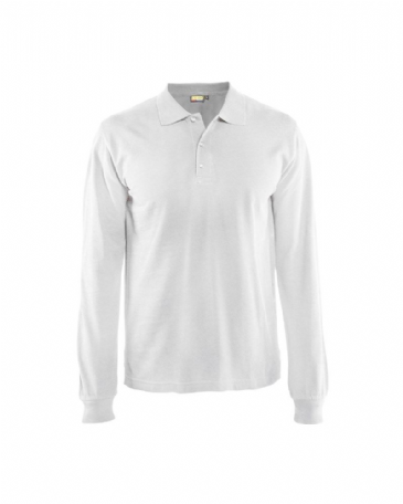 Blaklader 3388 Polo Shirt Long Sleeves (White)